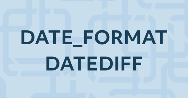 13. Learn SQL DATE_FORMAT, DATEDIFF